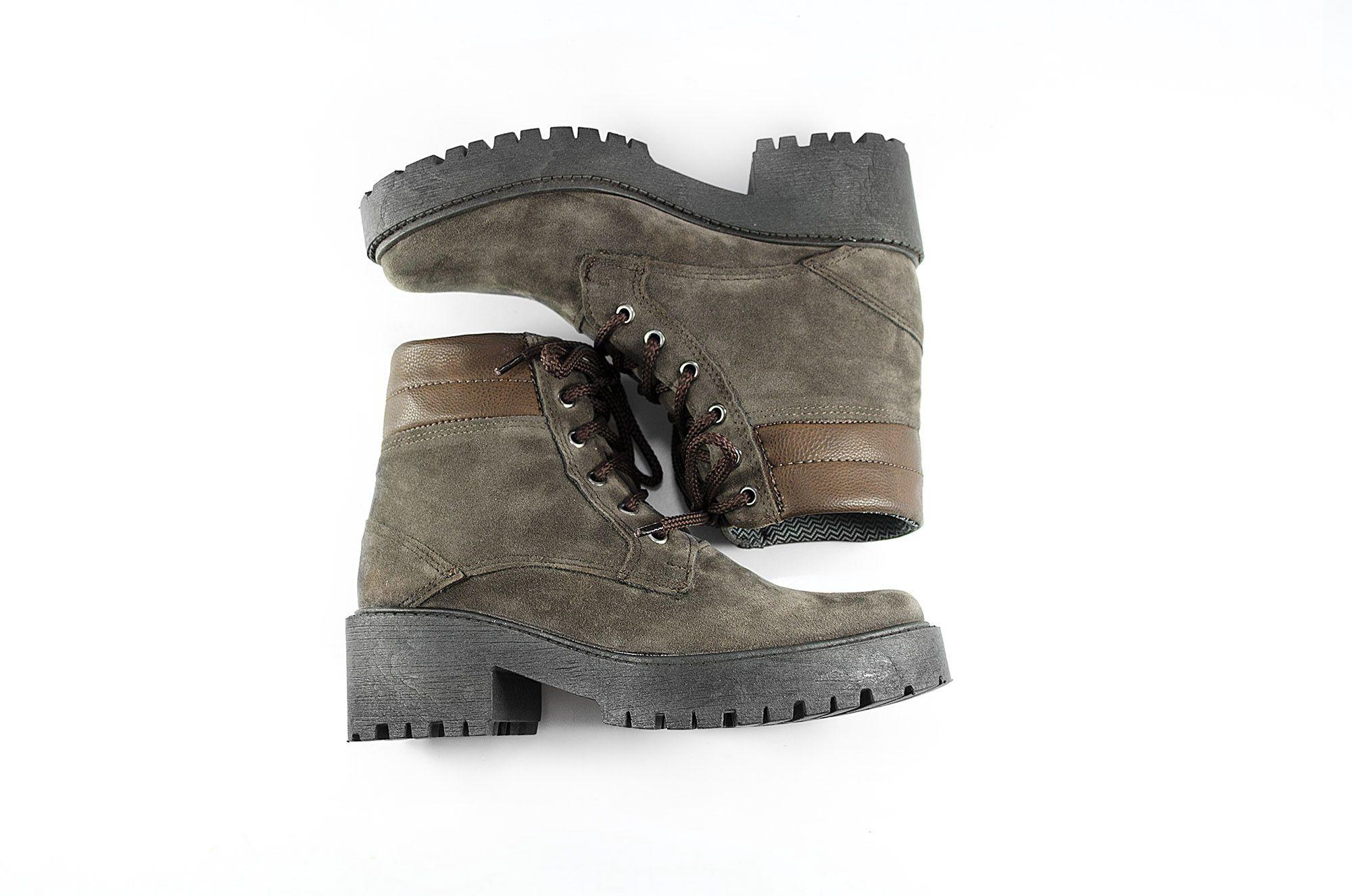 Bota Vegano Shoes Eco Poppy Musgo