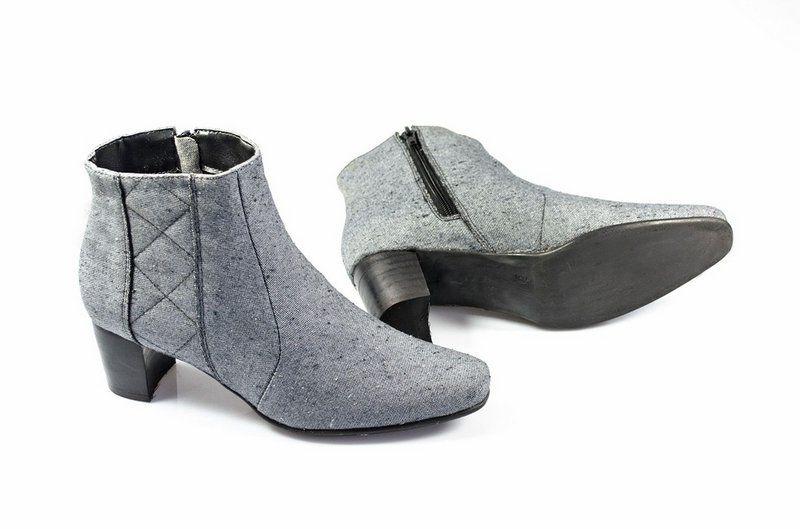 Bota Vegano Shoes Grevílea cinza
