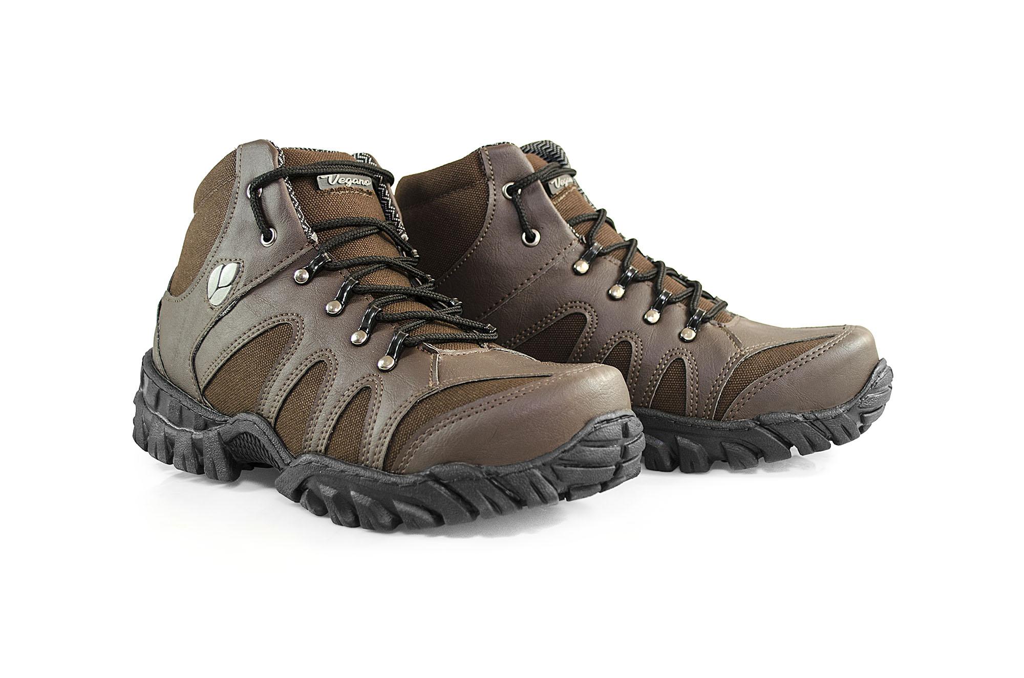Bota Vegano Shoes Jatobá Aconcágua Marrom