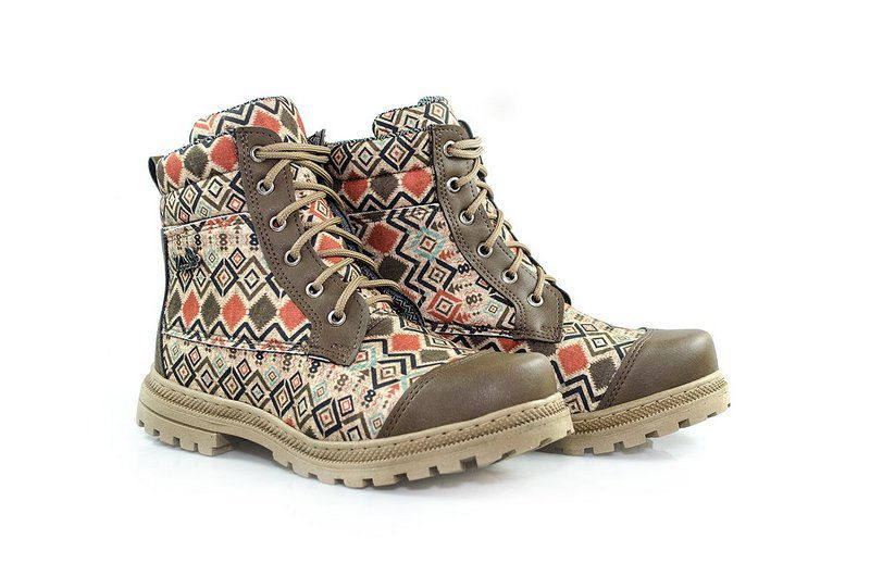 Bota Vegano Shoes Naturale Asteca