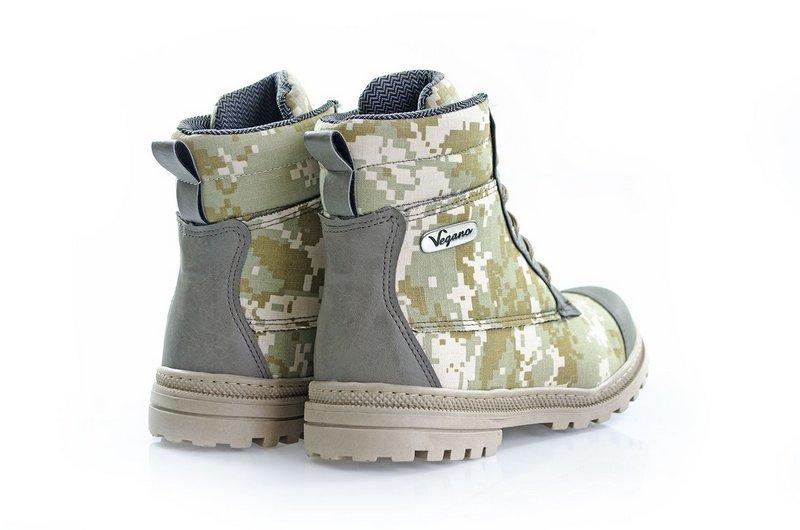 Bota Vegano Shoes Naturale Camuflada