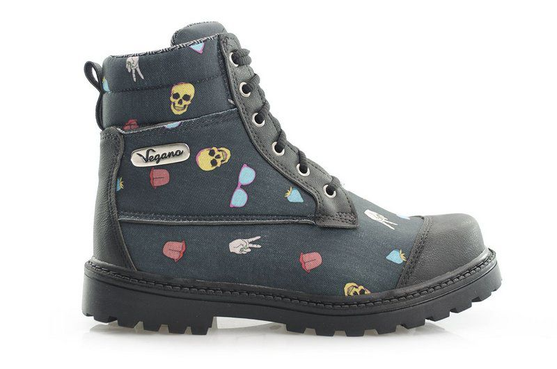 Bota Vegano Shoes Naturale Pop-art