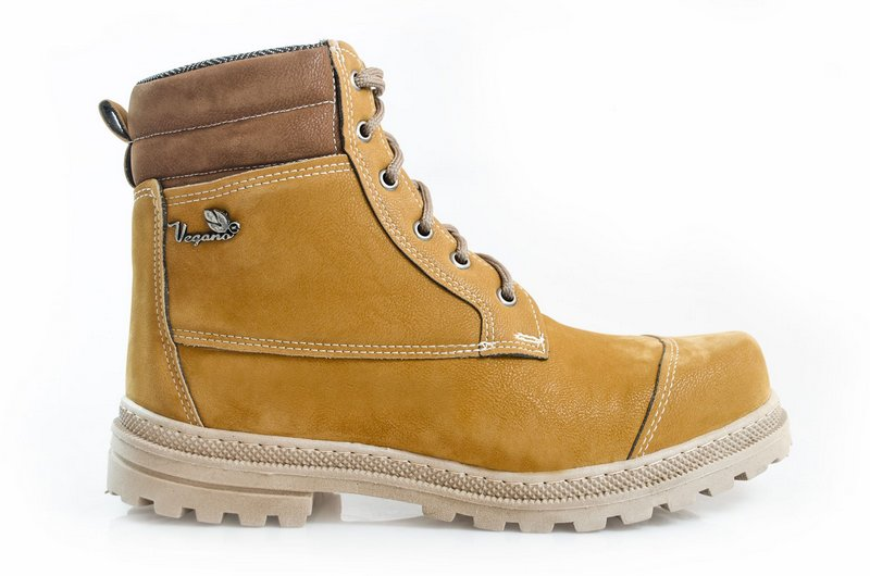 Bota Vegano Shoes Naturale Premium Amarelo (Yellow boot)