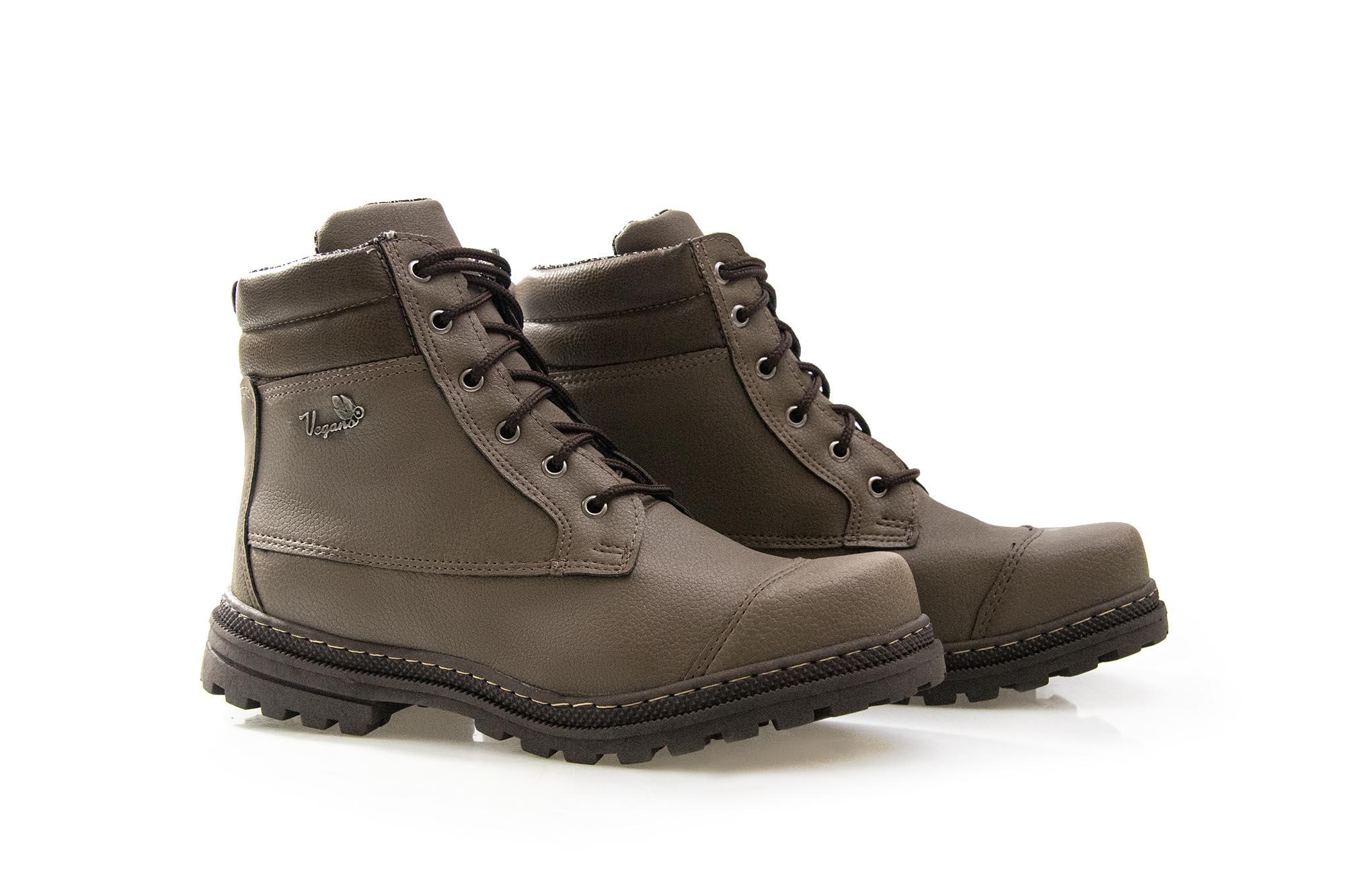 Bota Vegano Shoes Naturale Premium Café Noir