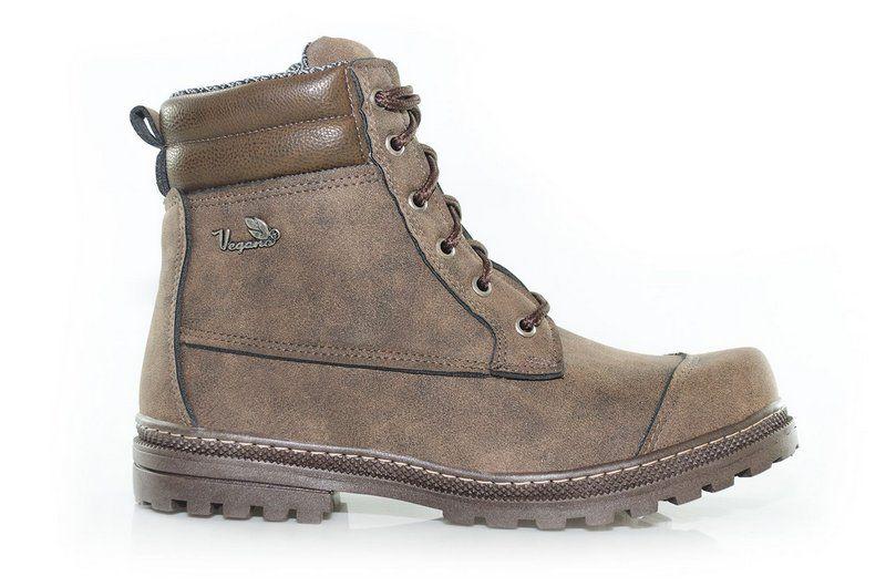Bota Vegano Shoes Naturale Premium Castanho