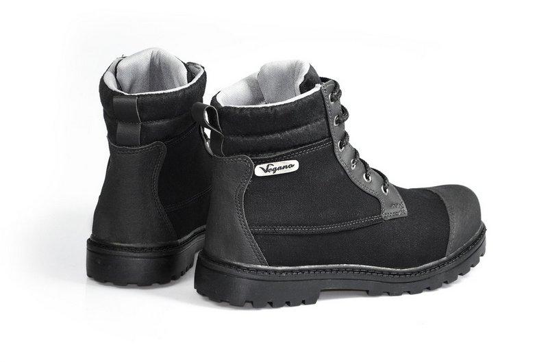 Bota Vegano Shoes Naturale Preta