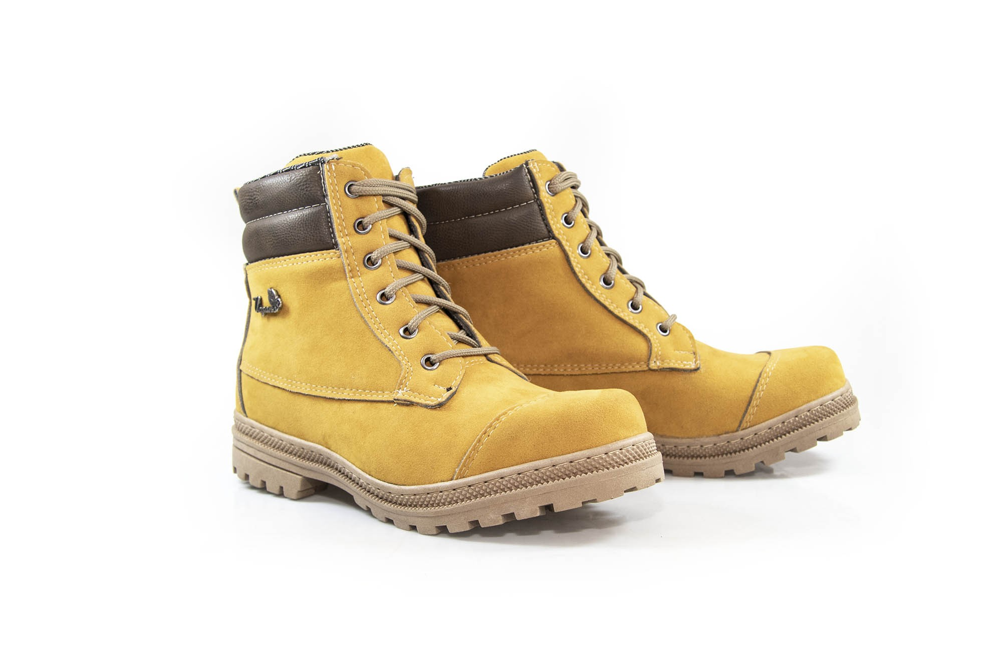 Bota Vegano Shoes Naturale Soft Amarelo (Yellow boot)