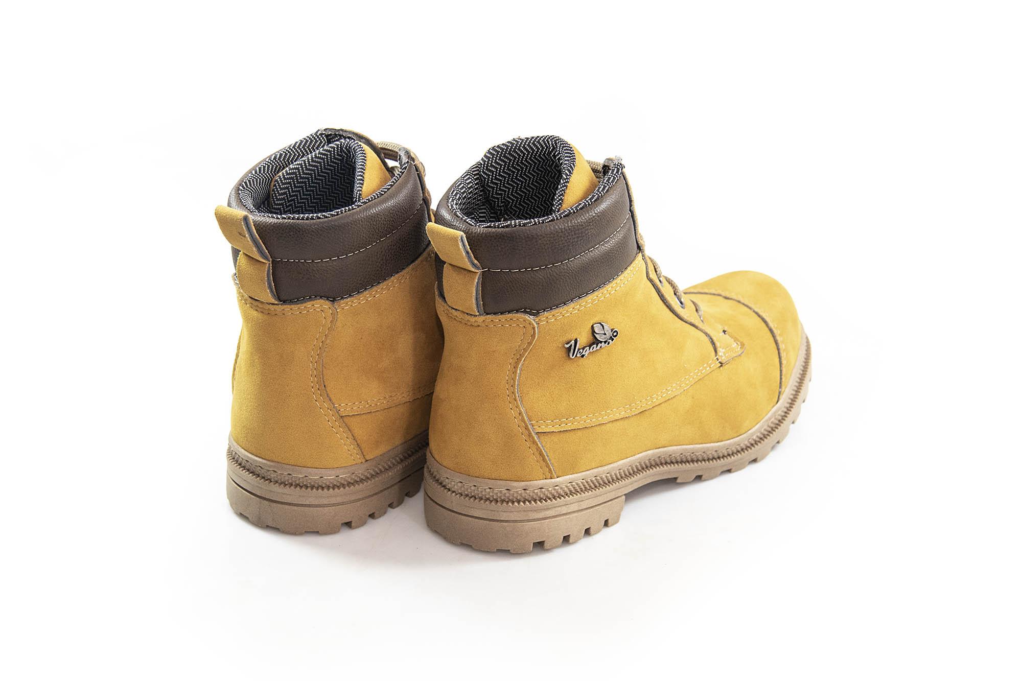 Bota Vegano Shoes Naturale Soft Amarelo (Yellow boot)