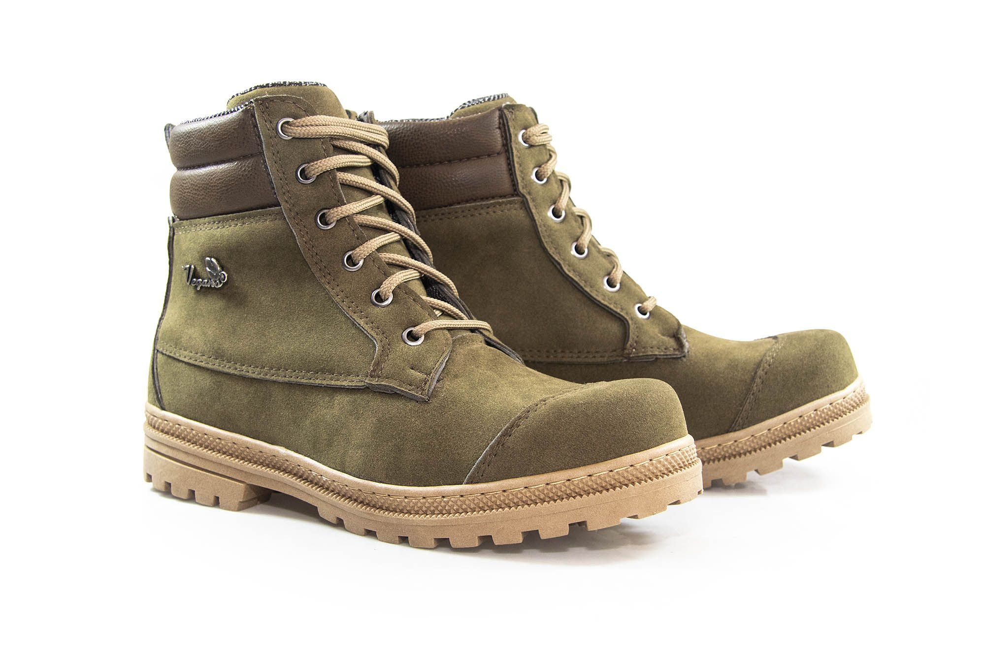 Bota Vegano Shoes Naturale Soft Aspargo
