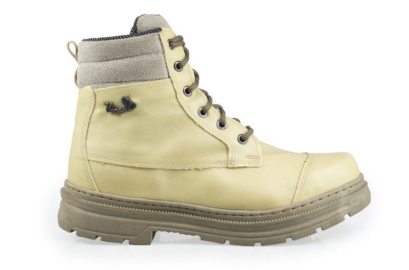 Bota Vegano Shoes Naturale Vegetal Amarela