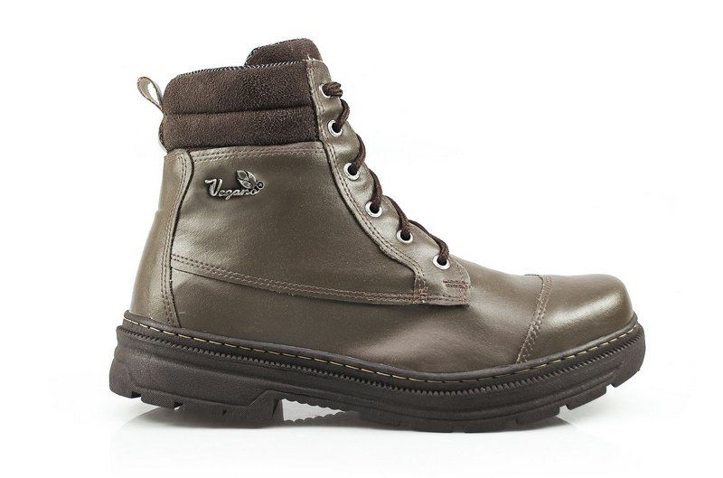 Bota Vegano Shoes Naturale Vegetal café