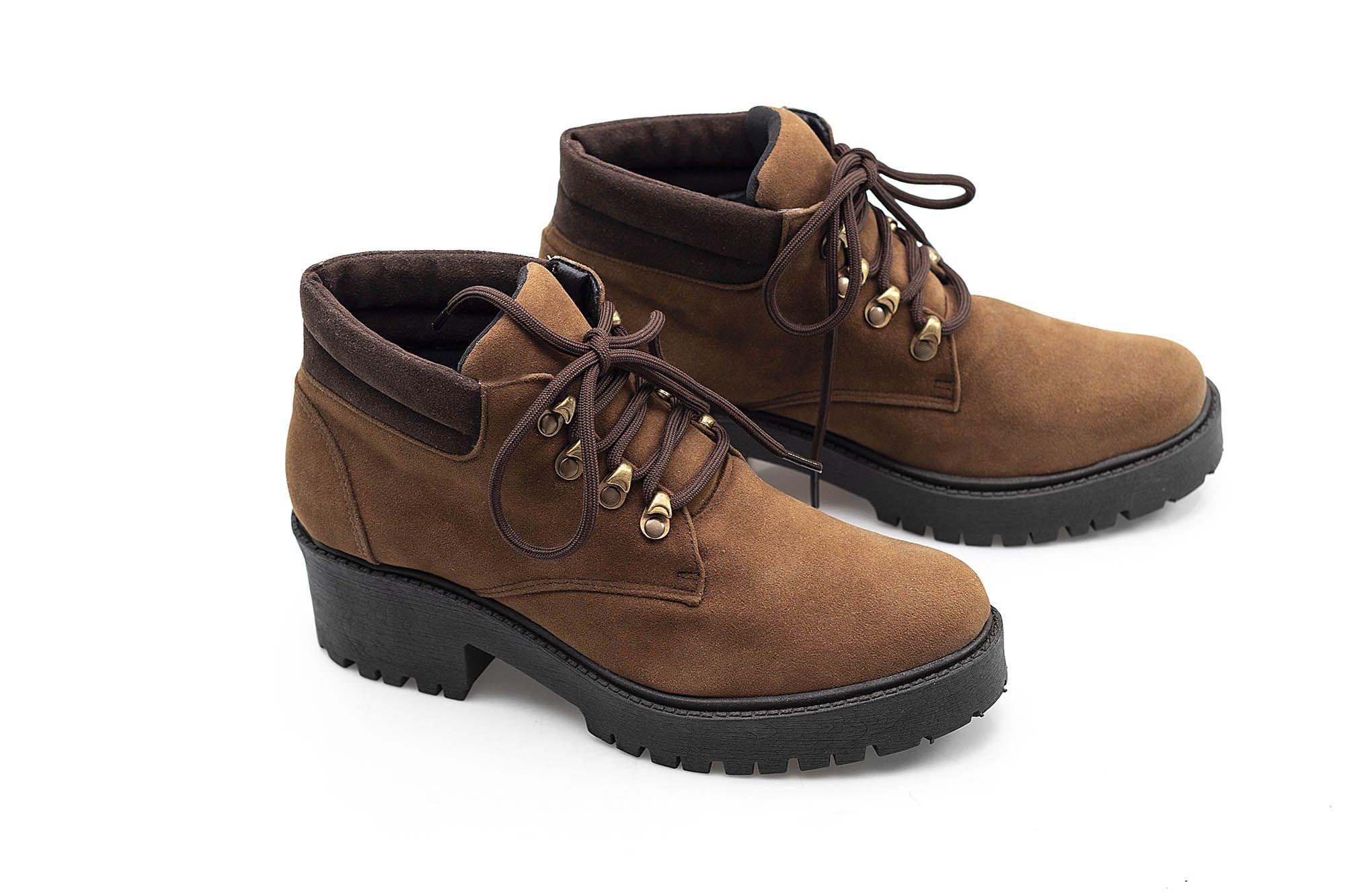 Bota Vegano Shoes Perpétua Capuccino