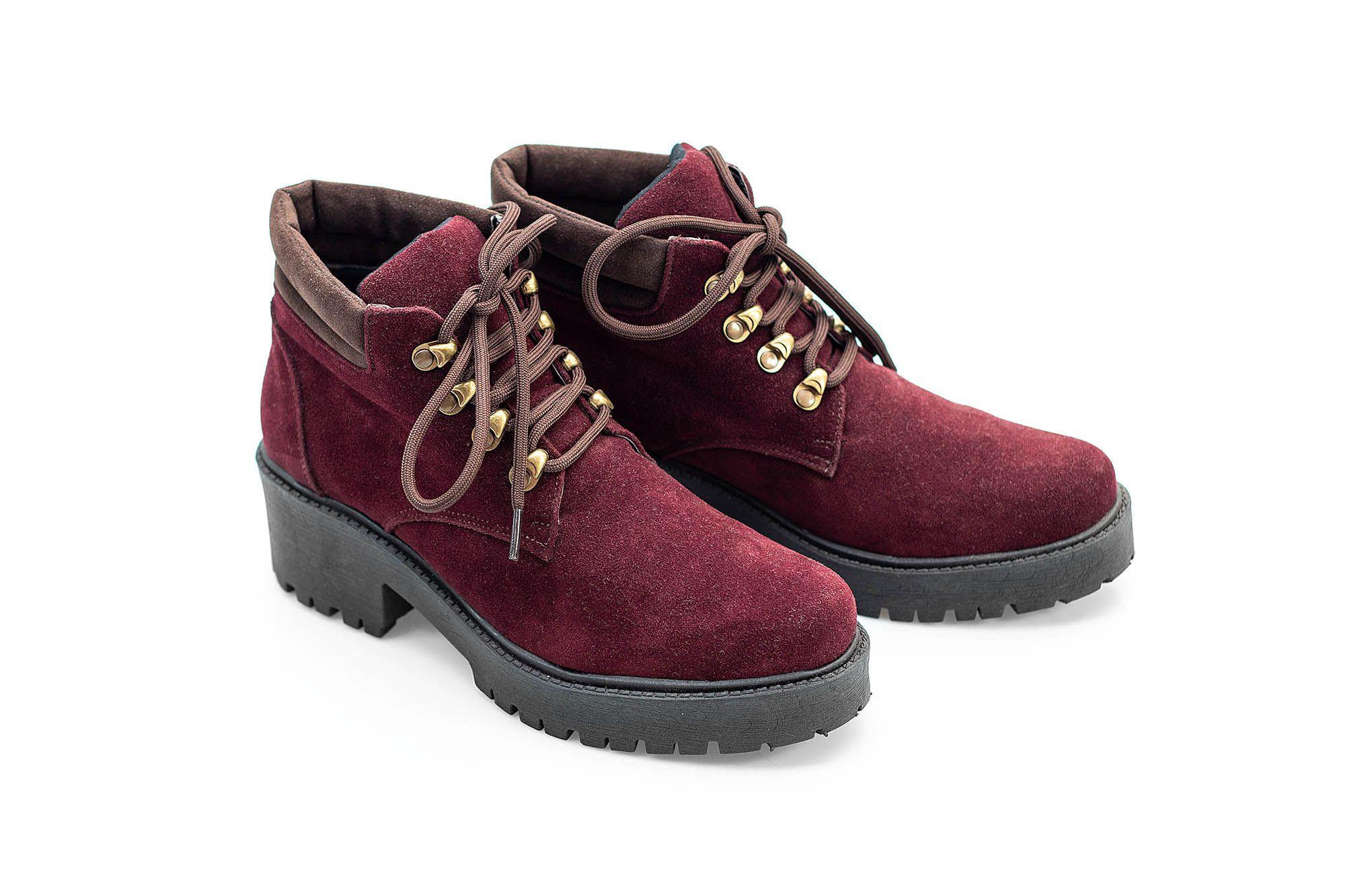Bota Vegano Shoes Perpétua Marsala