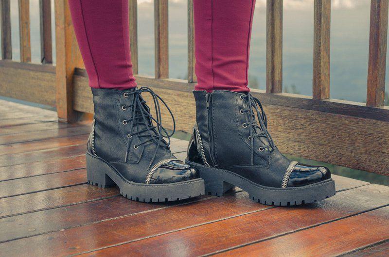 Bota Vegano Shoes Primula Preta