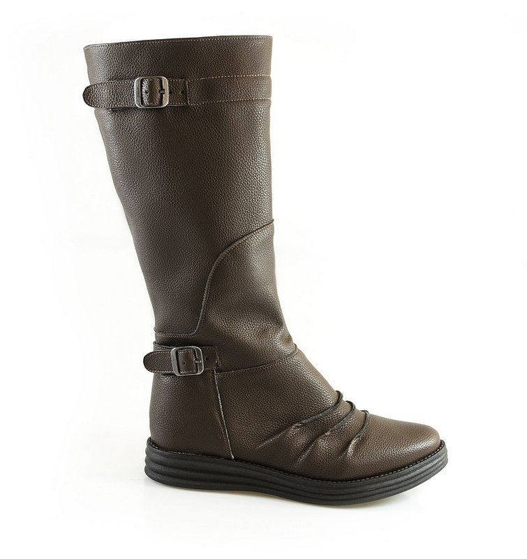 Bota Vegano Shoes Tulipa Marrom