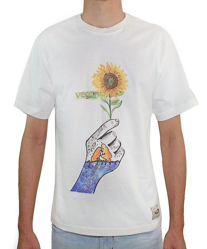 Camiseta vegan - Algodão orgânico