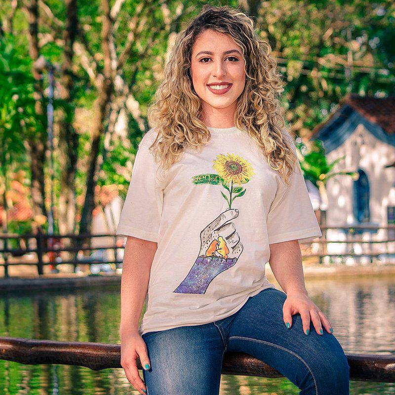 Camiseta Vegano Shoes Vegan - Algodão orgânico
