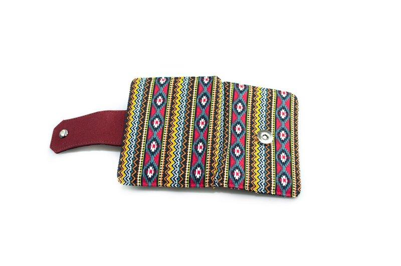 Carteira Vegano Shoes Triális Étnica