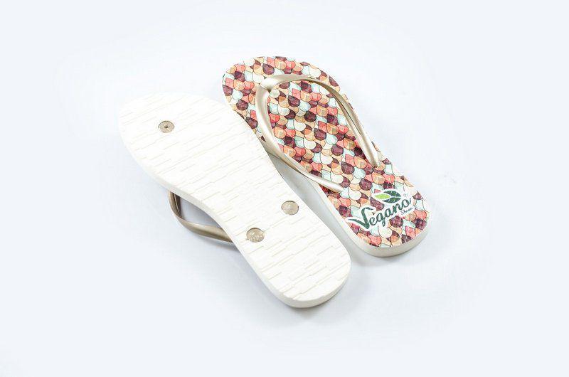 Chinelo Vegano Shoes Nature gotas