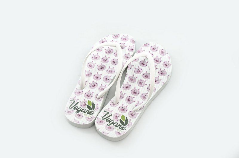Chinelo Vegano Shoes Nature Pig Rosa