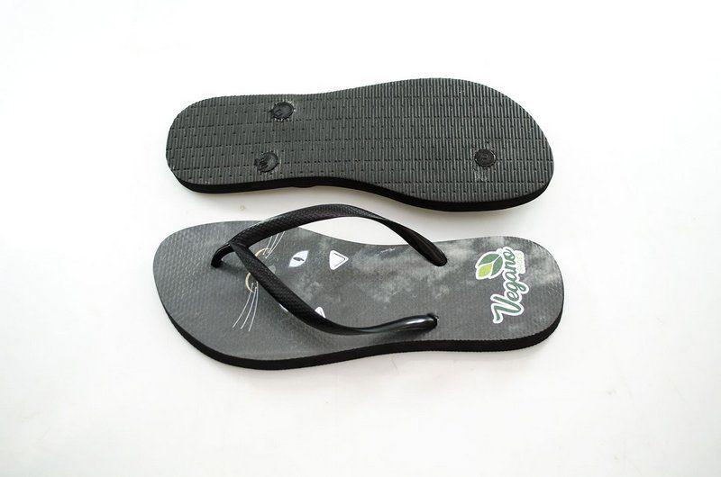 Chinelo Vegano Shoes Nature Whisker black