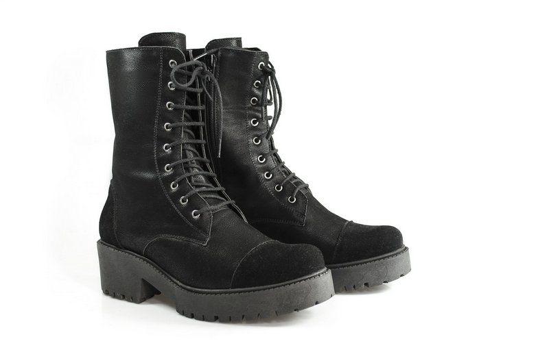 Coturno Vegano Shoes Anise Preto