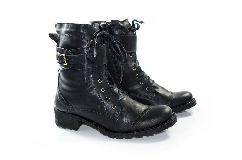 Coturno Vegano Shoes Griffo Black