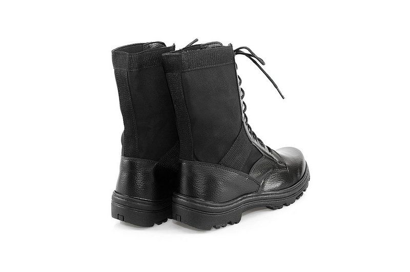 Coturno Vegano Shoes Militar Aipo Preto