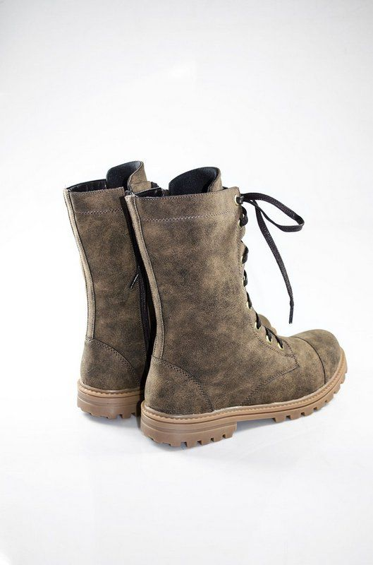Coturno Vegano Shoes Nertera Conforto Castanho