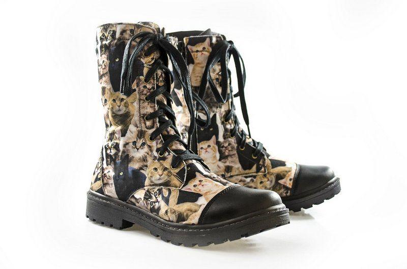 Coturno Vegano Shoes Nertera Conforto Cat