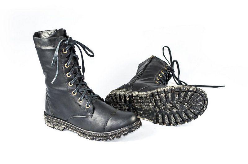 Coturno Vegano Shoes Nertera Conforto Preto