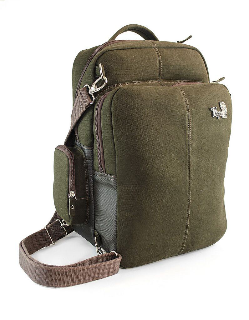 Mochila Vegano Shoes Aloe  Verde