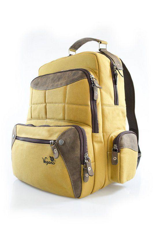 Mochila Vegano Shoes Gaura-Eco Amarela
