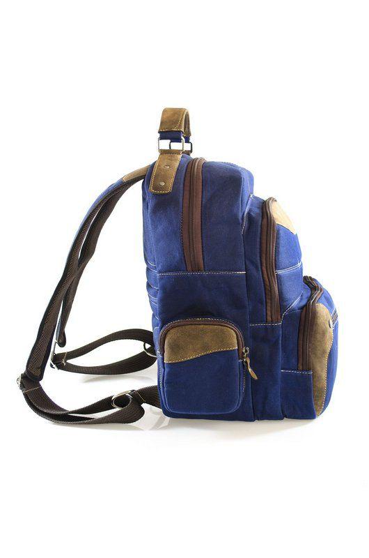Mochila Vegano Shoes Gaura-Eco Azul
