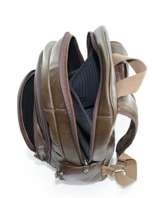 Mochila Vegano Shoes Ripsális Marrom