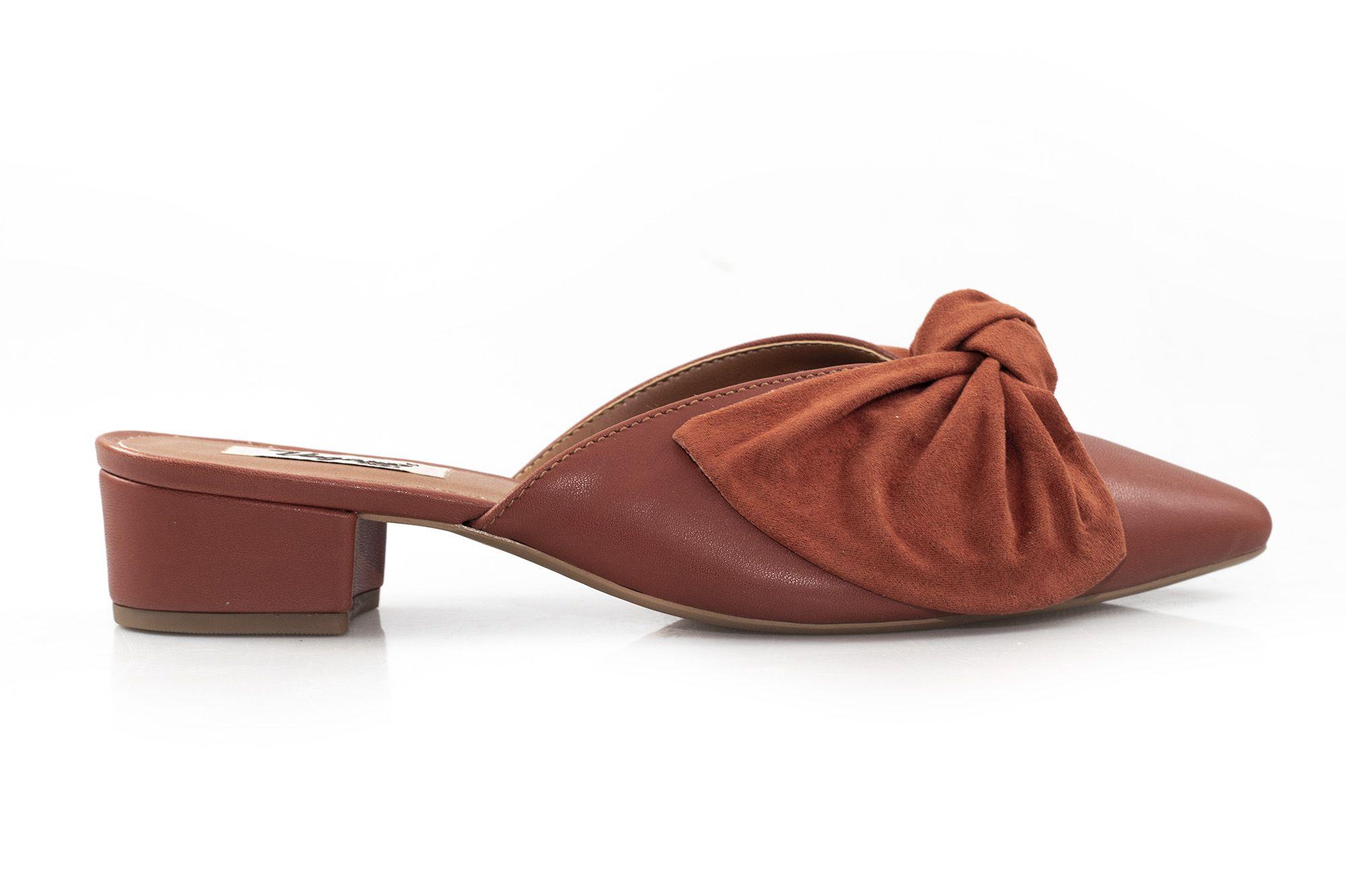 Mule Vegano Shoes Iris Terra
