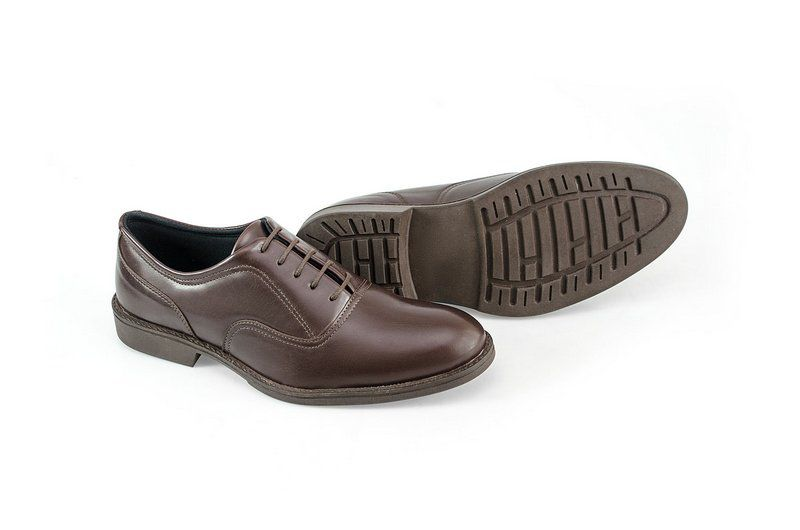 Oxford Vegano Shoes Vegan Elegance - Baru Brown