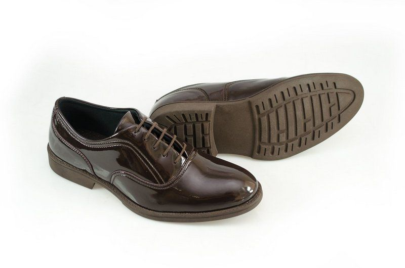 Oxford Vegano Shoes Vegan Elegance - Baru Marrom - Verniz