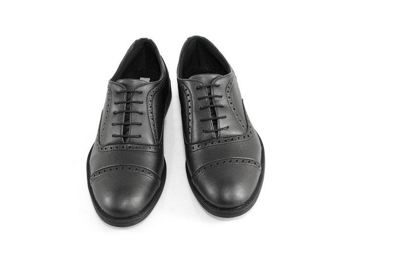 Oxford Vegano Shoes Vegan Elegance - Taro Preto