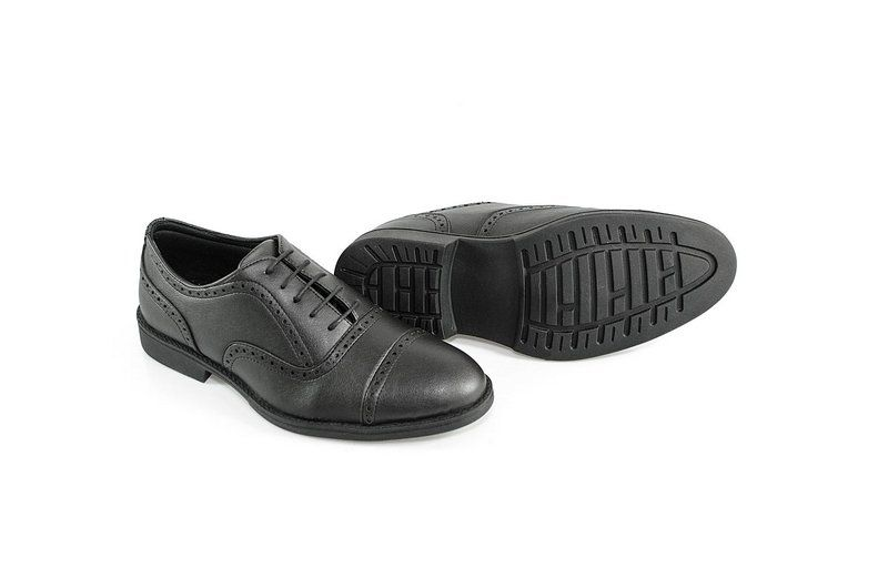 Oxford Vegano Shoes Vegan Elegance - Taro Preto