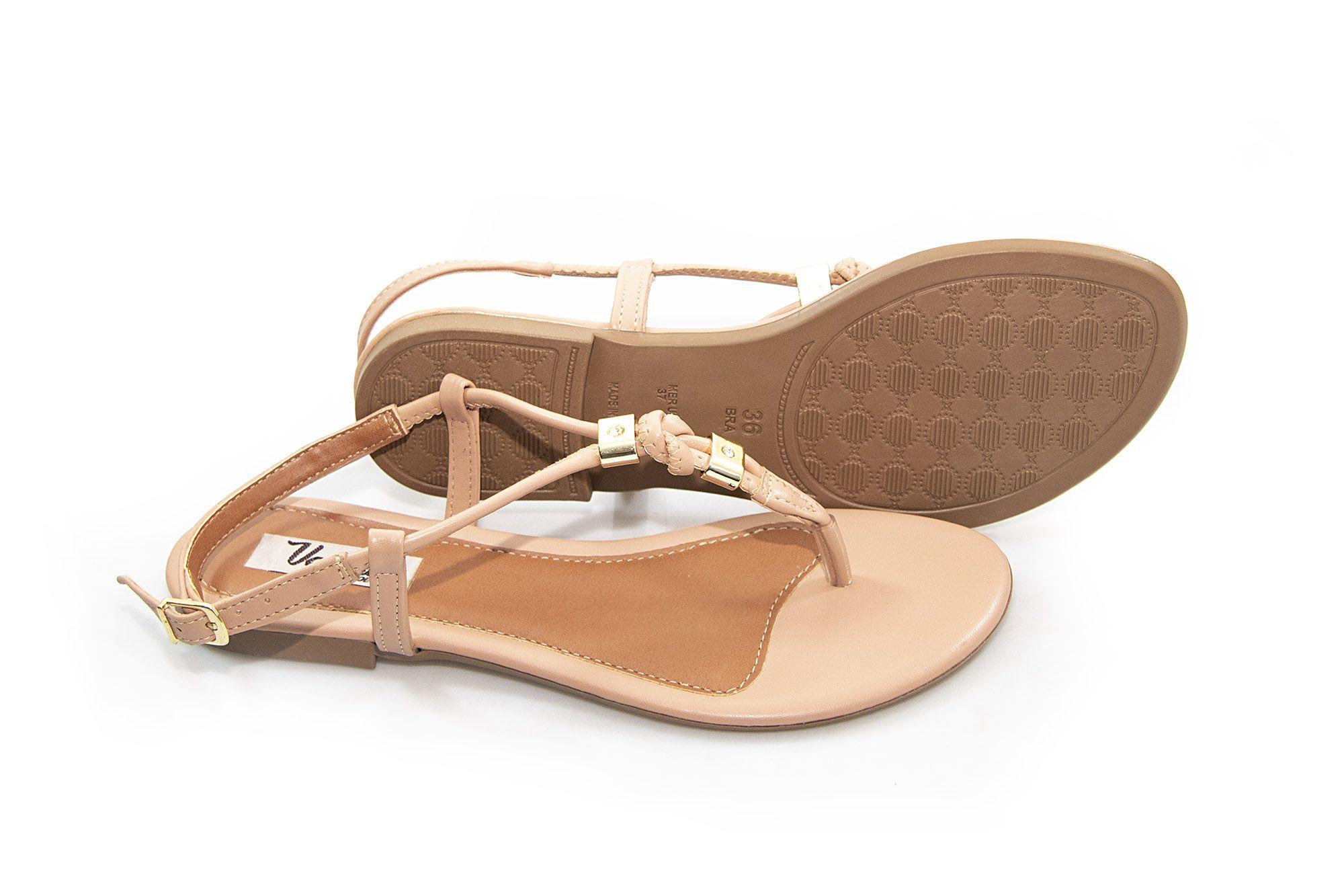 Sandália Vegano Shoes Angélica Nude