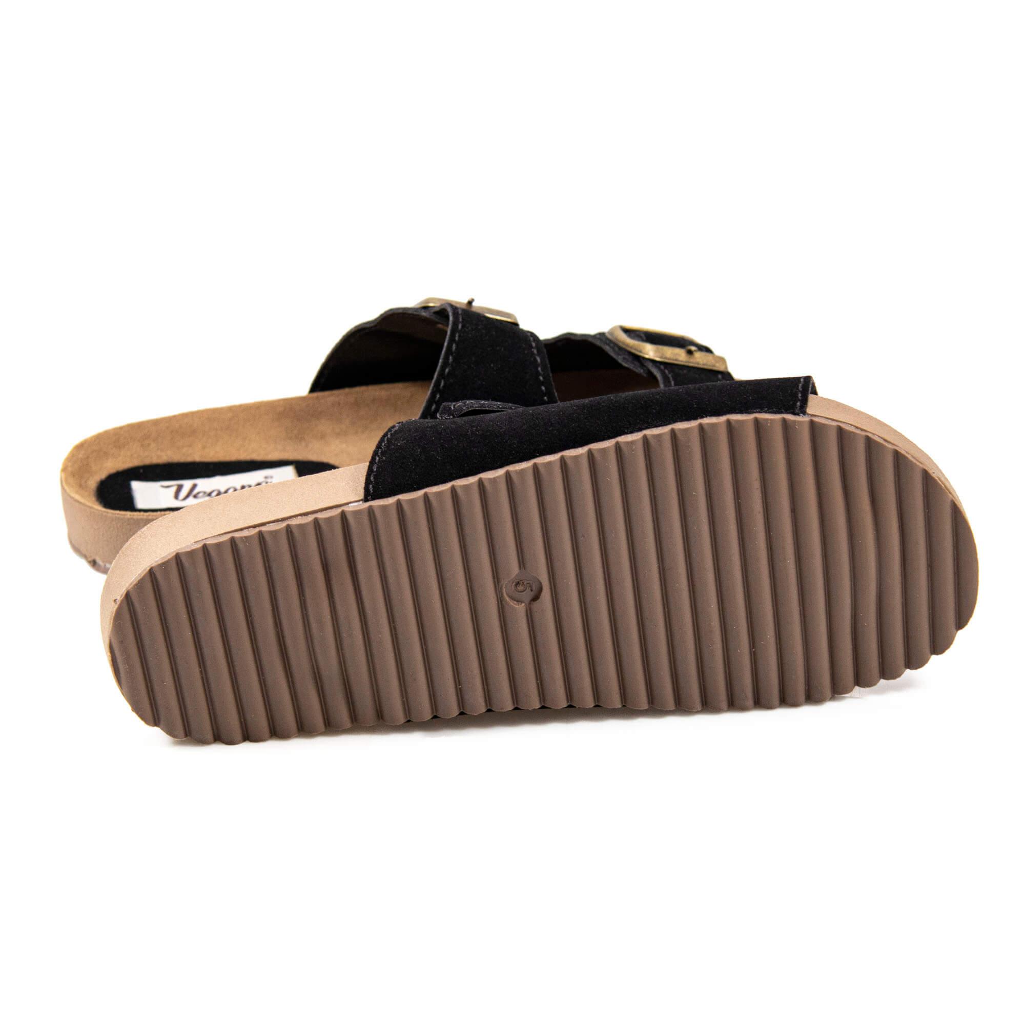 Sandalia Vegano Shoes Bela Preta