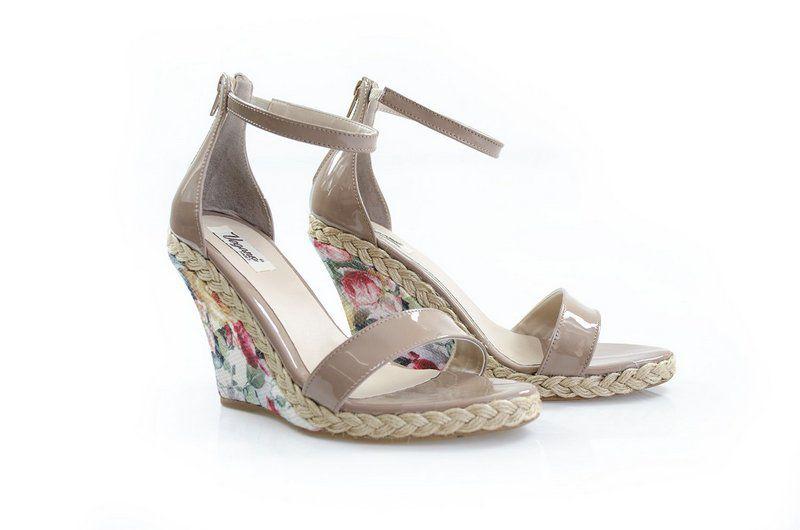 Sandália Vegano Shoes Caládio Nude