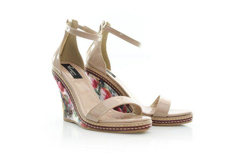 Sandália Vegano Shoes Caládio Nude (vira)
