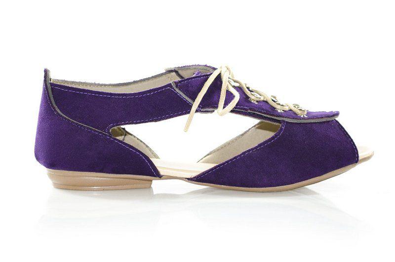 Sandália Vegano Shoes Cut Out Dypsis  Lilás
