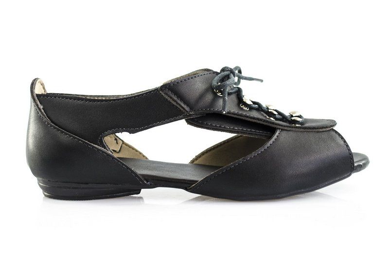 Sandália Vegano Shoes Cut Out Dypsis  Preto