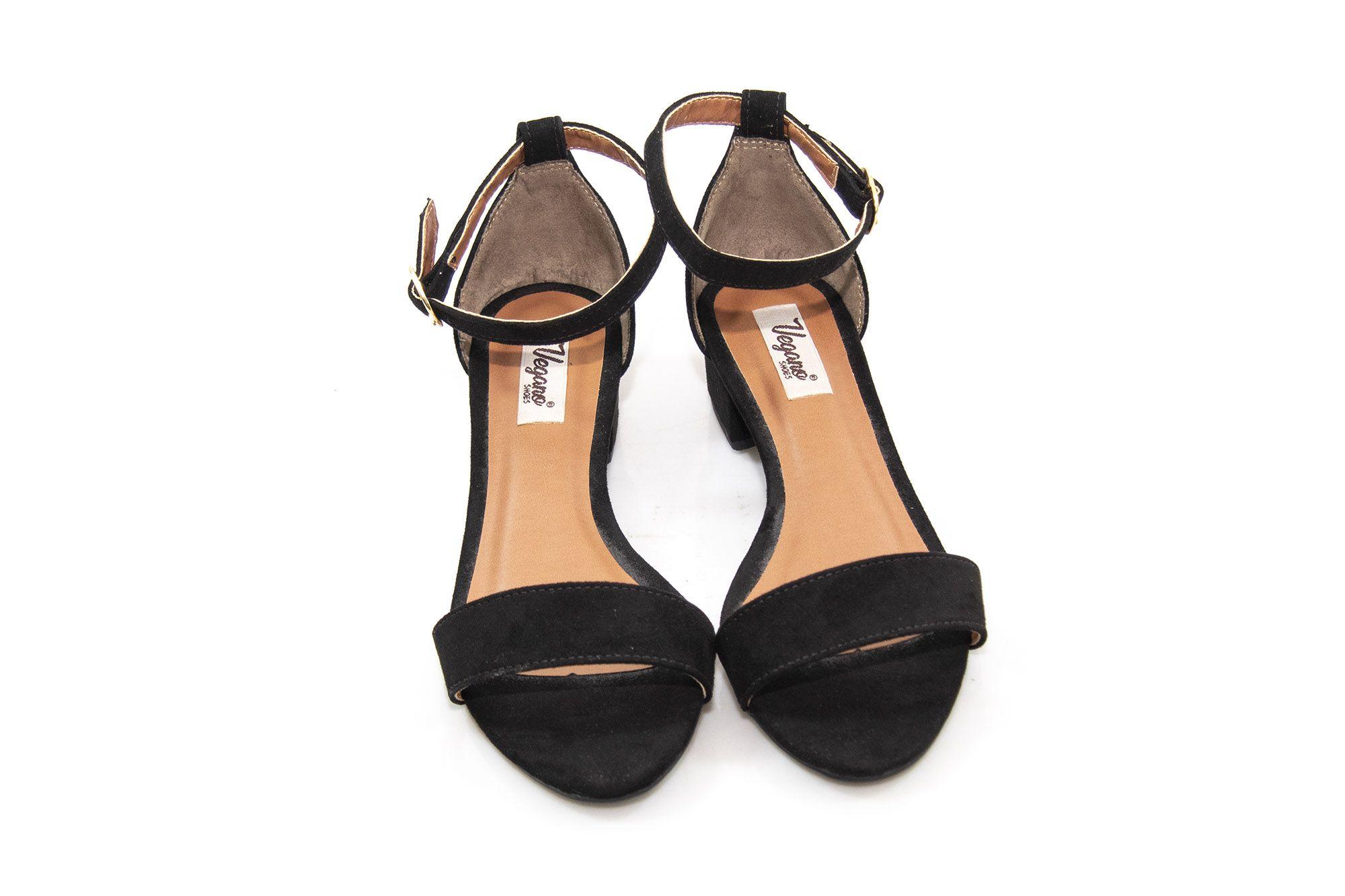 Sandália Vegano Shoes Hortência Preta