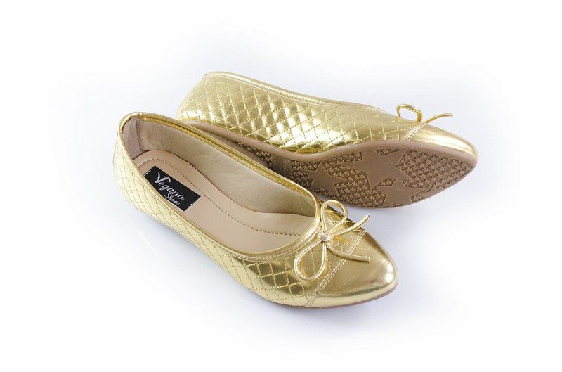Sapatilha Vegano Shoes Kerria Gold