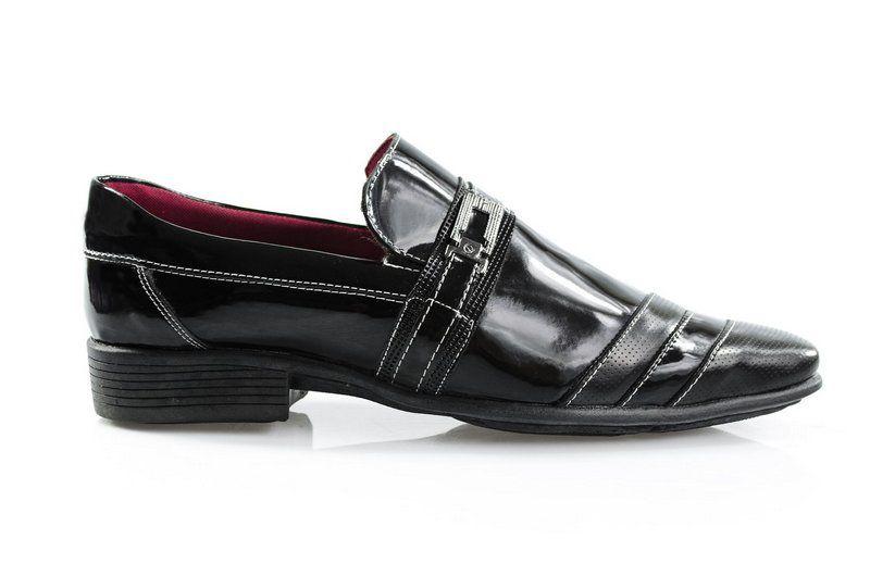 Sapato Jacarandá Verniz Preto