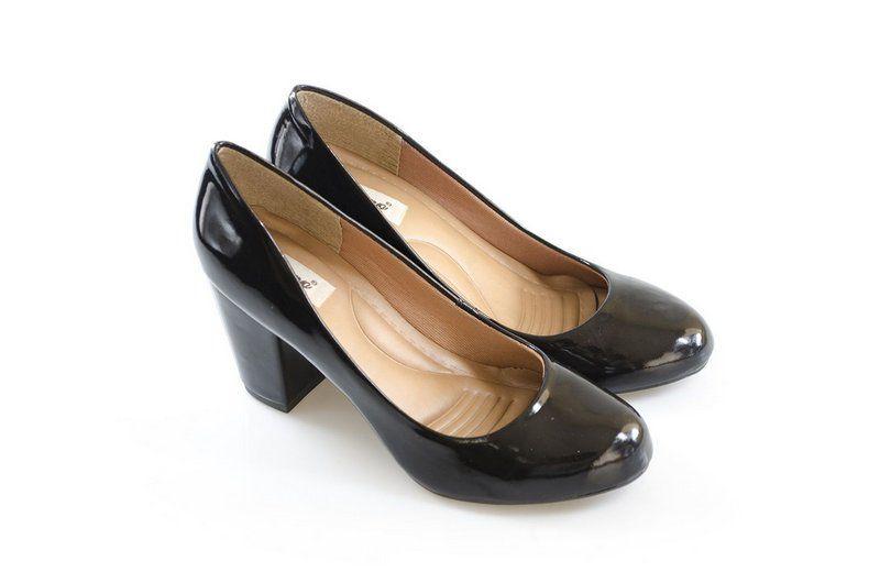 Sapato Vegano Shoes boneca Agapanto preto
